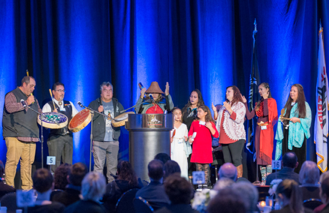 Tulalip Tribes' 2018 Raising Hands photo of the venue.