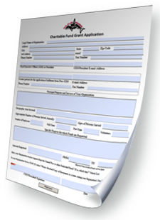 Charitable Contributions Funds Application