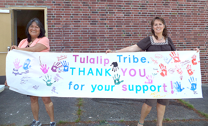 Charitable Contributions Tulalip Cares